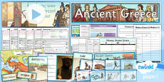 PlanIt - History UKS2 - Ancient Greece Unit Pack