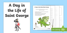 St. George's Day Creative Activity Sheet