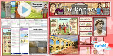 PlanIt - History LKS2 - Romans Unit Pack