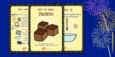 Parkin Recipe Cards