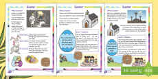 Easter Differentiated Fact File