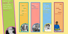Reading Quote Bookmarks for KS3