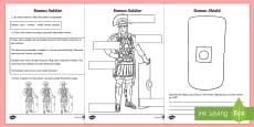 Roman Soldiers Worksheet