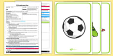 EYFS Football Whats in the Box Game Adult Input Plan and Resource Pack