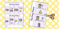 The Frog Prince Story Writing Flap Book