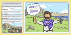 Jesus Feeds the 5000 Bible Story