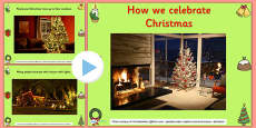 Celebrating Christmas Infomation PowerPoint