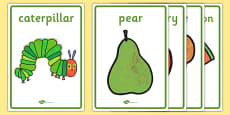 Display Posters to Support Teaching on The Very Hungry Caterpillar