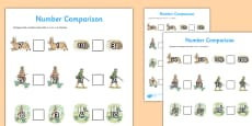 Beatrix Potter - The Story of a Fierce Bad Rabbit Differentiated Number Activity Sheet Pack