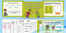 PlanIt Y4 Term 1B W5: 'ough' Words Spelling Pack