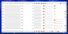 Bonfire Night Firework Onomatopoeia Page Borders