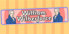 William Wilberforce Display Banner