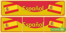 Spanish Display Banner (Espanol)