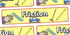 Friction Display Banner