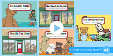 Toys Songs and Rhymes PowerPoints Pack