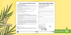 * NEW * Year 4 Easter Purchase Open-Ended Problem Activity Sheet