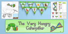 Australia - Kindergarten Resource Pack to Support Teaching on The Very Hungry Caterpillar