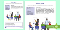 Spring Collective Poem Adult Guidance