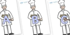 A-Z Alphabet on Bakers