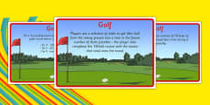 Rio 2016 Olympics Golf Display Facts