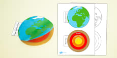 Earth Layers Interactive Visual Aid