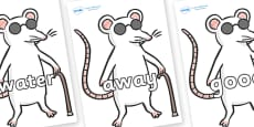 Next 200 Common Words on Blind Mice