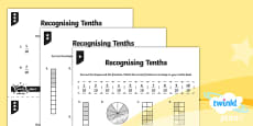 PlanIt Y3 Fractions Recognise and Count in Tenths Home Learning