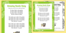 Growing Seeds Song