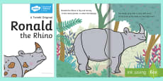 Ronald the Rhino eBook