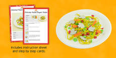 Chinese Food Paper Plate Craft Instructions