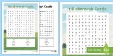 * NEW * Hillsborough Castle Word Search