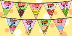 Australia - Food Revolution Day Display Bunting