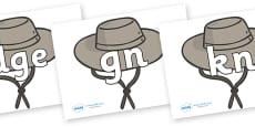 Silent Letters on Cowboy Hats