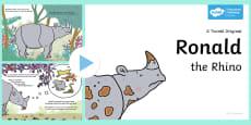 Ronald the Rhino Story PowerPoint