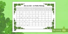 * NEW * St. Patrick's Day Crack the Code Activity Sheet Gaeilge