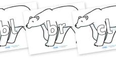 Initial Letter Blends on Polar Bears