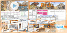PlanIt - Science Year 3 - Rocks Unit Pack