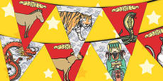 Chinese New Year Story Bunting