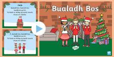 Bualadh Bos Song PowerPoint Gaeilge Gaeilge