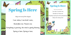 Spring Is Here Song