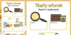 Shrove Tuesday Event Writing Report Polish