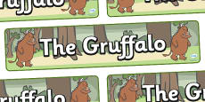 The Gruffalo Display Banner