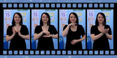 20 Christmas Signs in British Sign Language (BSL) Video Clip