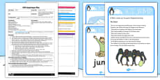 Penguin Ice Jump EYFS Adult Input Plan and Resource Pack
