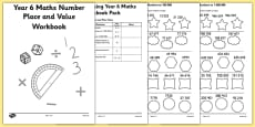 Year 6 Maths Number and Place Value Workbook
