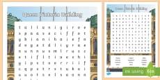 Sydney Queen Victoria Building Word Search