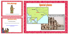 KS1 Hindu Pilgrimage Teaching and Task Setting PowerPoint