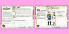 Kings and Queens Lesson Plan Ideas KS1