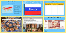 Russia Information PowerPoint