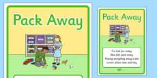 Pack Away Display Poster